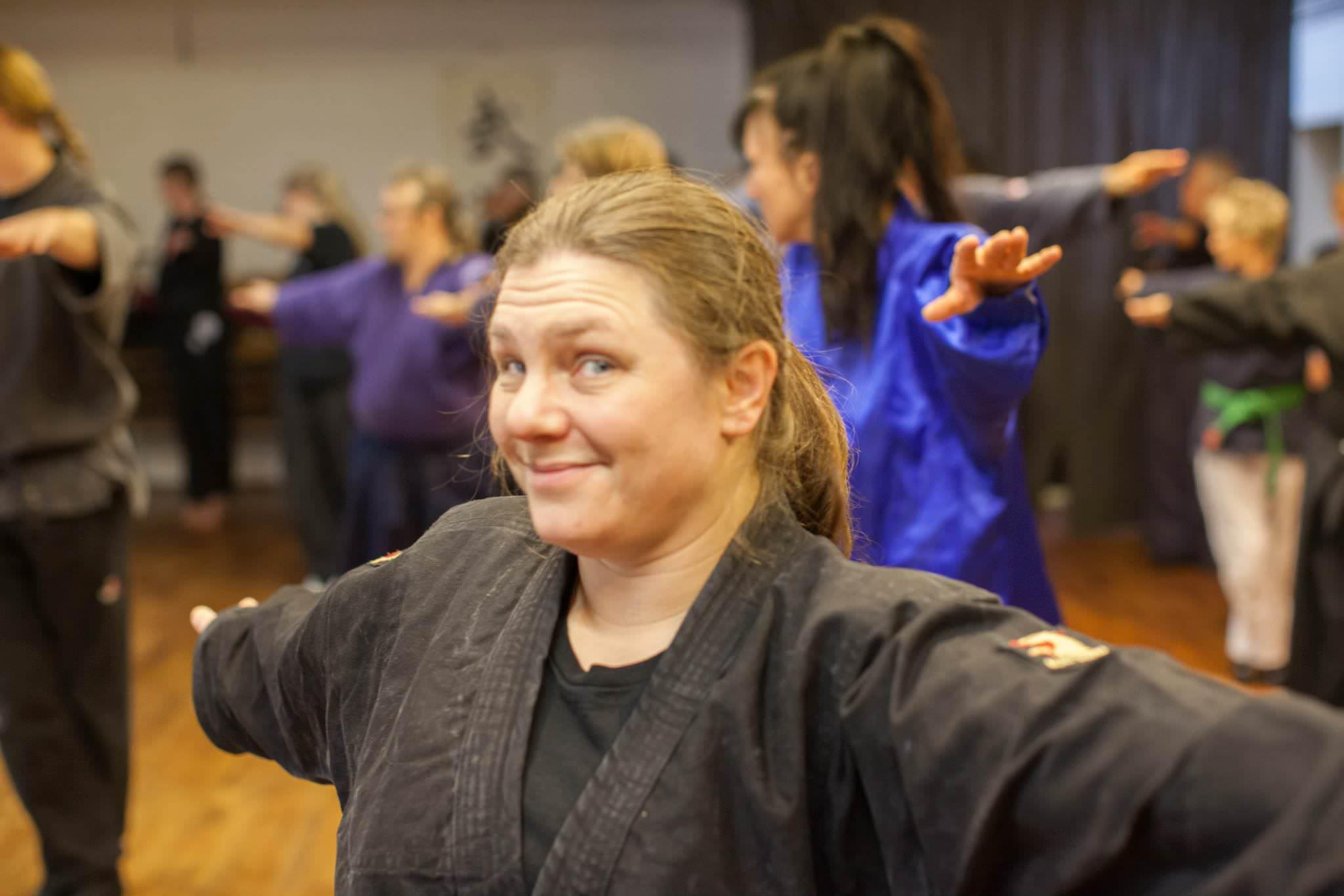 Yoga trifft Kampfkunst